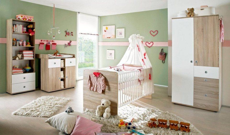 moebel-dich-auf Babyzimmer-Komplettset »WIKI 3«, in Eiche ...