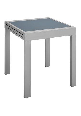 MERXX Sodo stalas »Lima« 65x65-130 cm išskle...