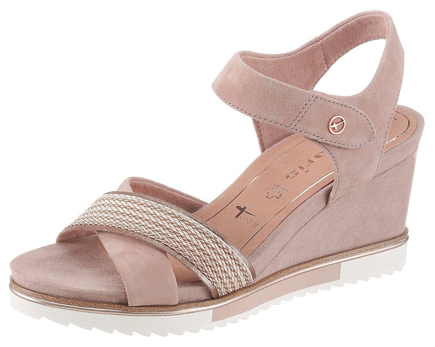 tamaris -  »Alis« Sandalette mit eleganter Kreuzbandage