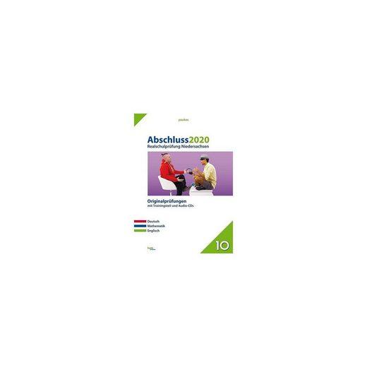 Abschluss 2020 - Realschulprüfung Niedersachsen, m. Audio-CD