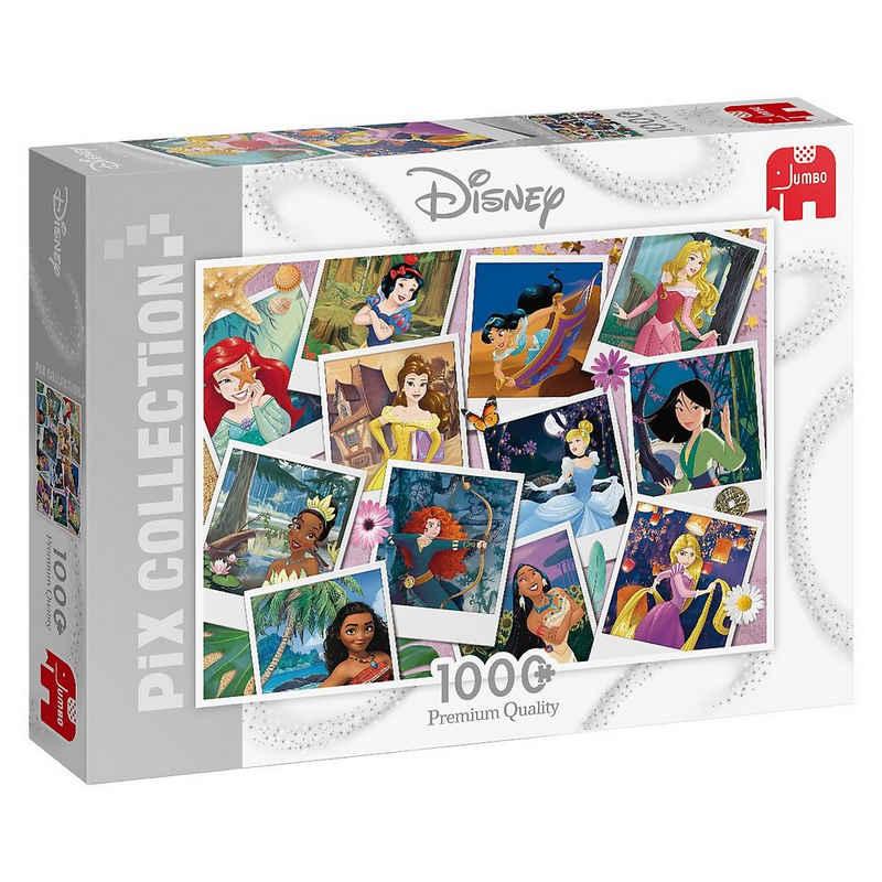 Jumbo Puzzle »Puzzle Disney Pix Collection Princess Selfies,«, Puzzleteile