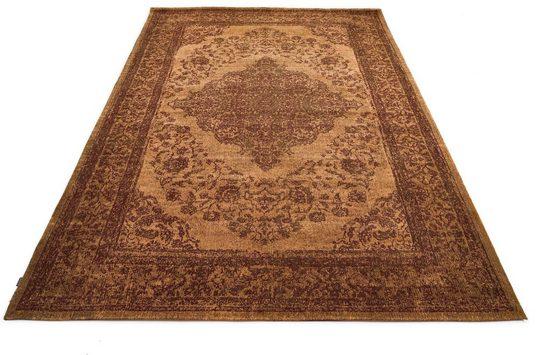 Teppich »Bordüre«, GALLERY M, rechteckig, Höhe 5 mm, Flachgewebe, Chenille, Wohnzimmer