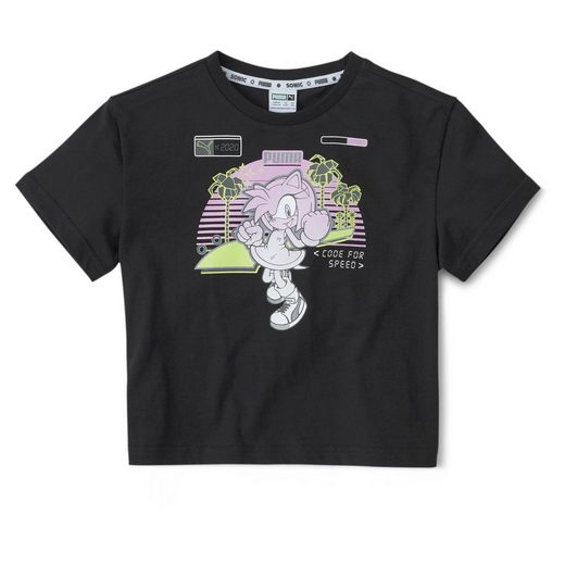 PUMA T-Shirt »PUMA x SEGA Kinder T-Shirt«