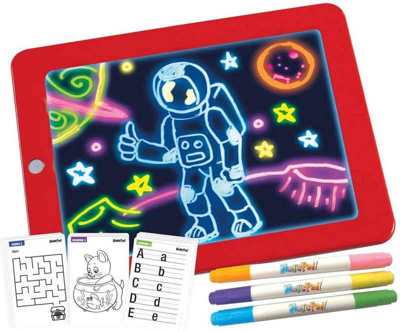 MediaShop Zaubertafel »Magic Pad – Zaubertafel mit 6 Neonfarben und 8«