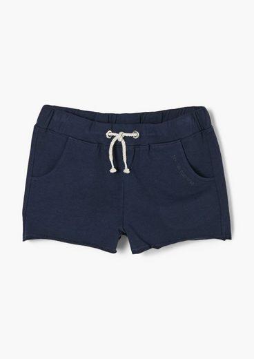 s.Oliver Leggings »Regular Fit: Shorts aus Sweat« (1-tlg) angedeuteter Tunnelzug
