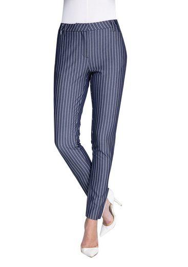 Zhrill Stoffhose Damen Stoff Jeanshose Anzughose Vintage Slim Fit Sophia