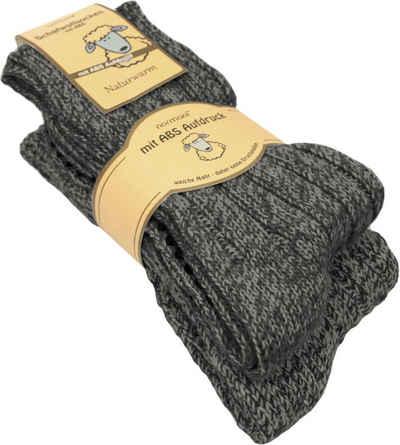 normani Thermosocken »2 Paar Norwegersocken aus Schafwolle« (2 Paar) natürlich warm