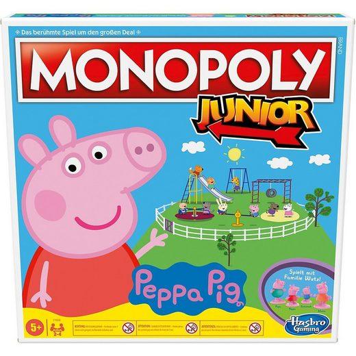 Hasbro Spiel, »Monopoly Junior: Peppa Pig Edition, Brettspiel für«