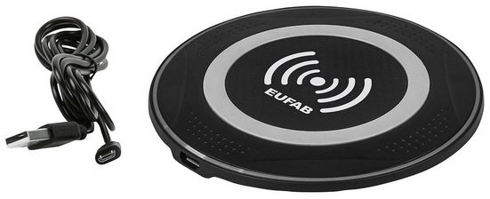 EUFAB Induktions-Ladegerät 5 V, kabelloses Aufladen