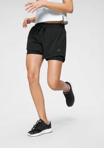 adidas Performance Trainingsshorts »2IN1 WOVEN SHORT«