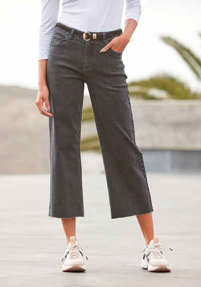 Buffalo Ankle-Jeans im Culotte-Style