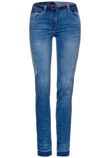 Hosen - Cecil Loose fit Jeans im Patchwork Style ›  - Onlineshop OTTO
