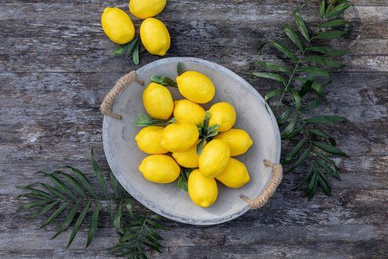 HomeLiving Dekoobjekt »Deko-Zitrone«