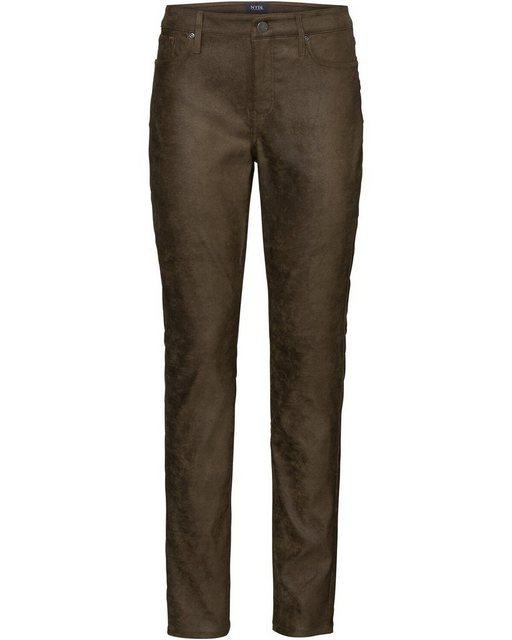 Hosen - NYDJ 5 Pocket Hose »Hose Alina Skinny« › grün  - Onlineshop OTTO