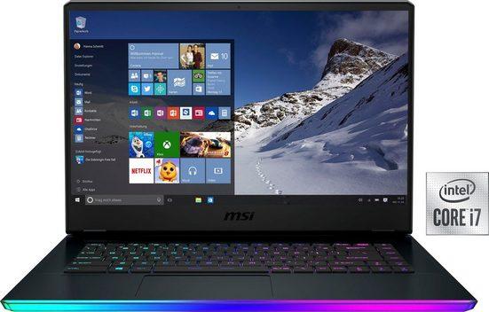 MSI GE66 Raider 10UE-262 Gaming-Notebook (39,6 cm/15,6 Zoll, Intel Core i7, GeForce RTX™ 3060, 1000 GB SSD, Kostenloses Upgrade auf Windows 11, sobald verfügbar)