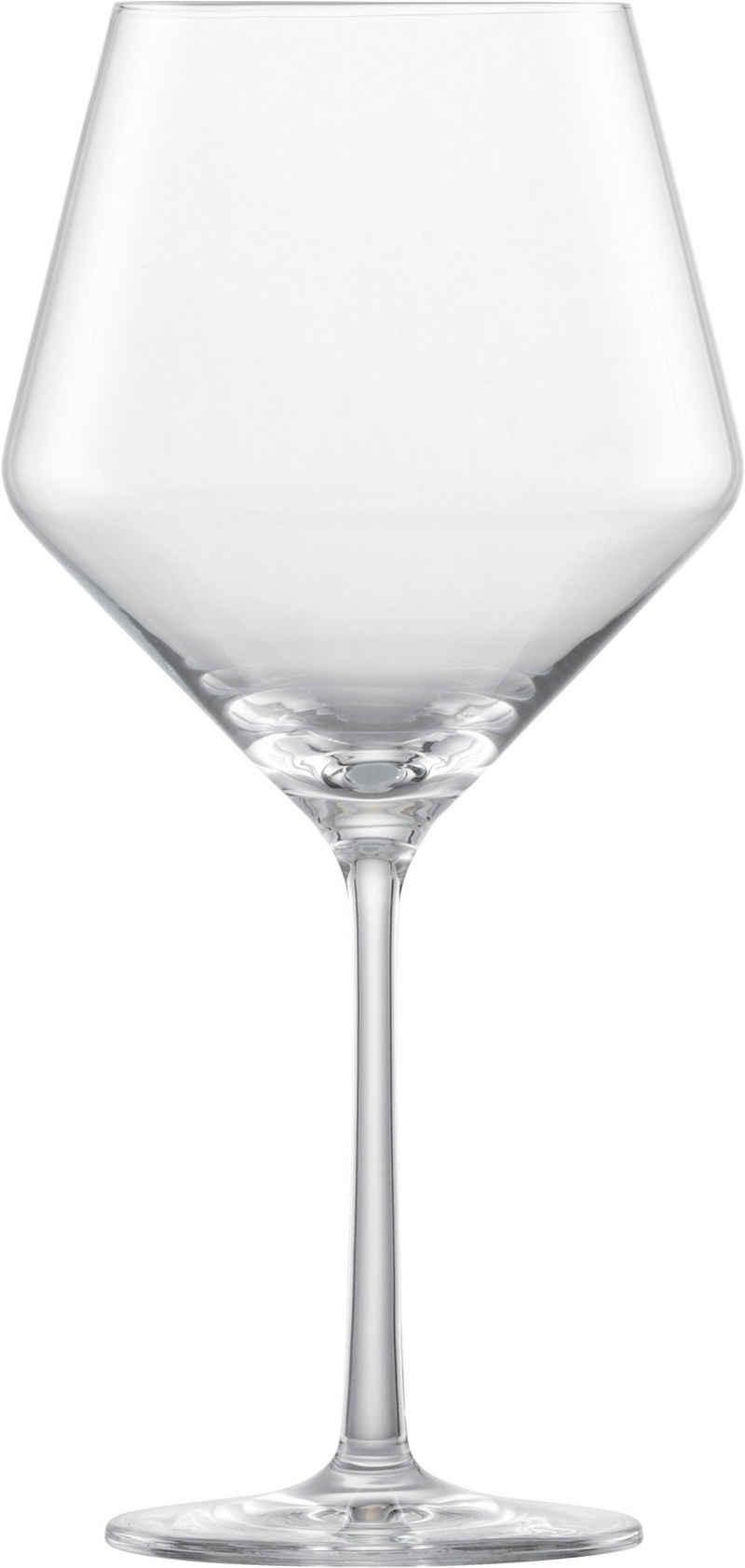 Zwiesel Glas Weinglas »Pure Burgunderpokal 112421 6er Set«, Kristallglas