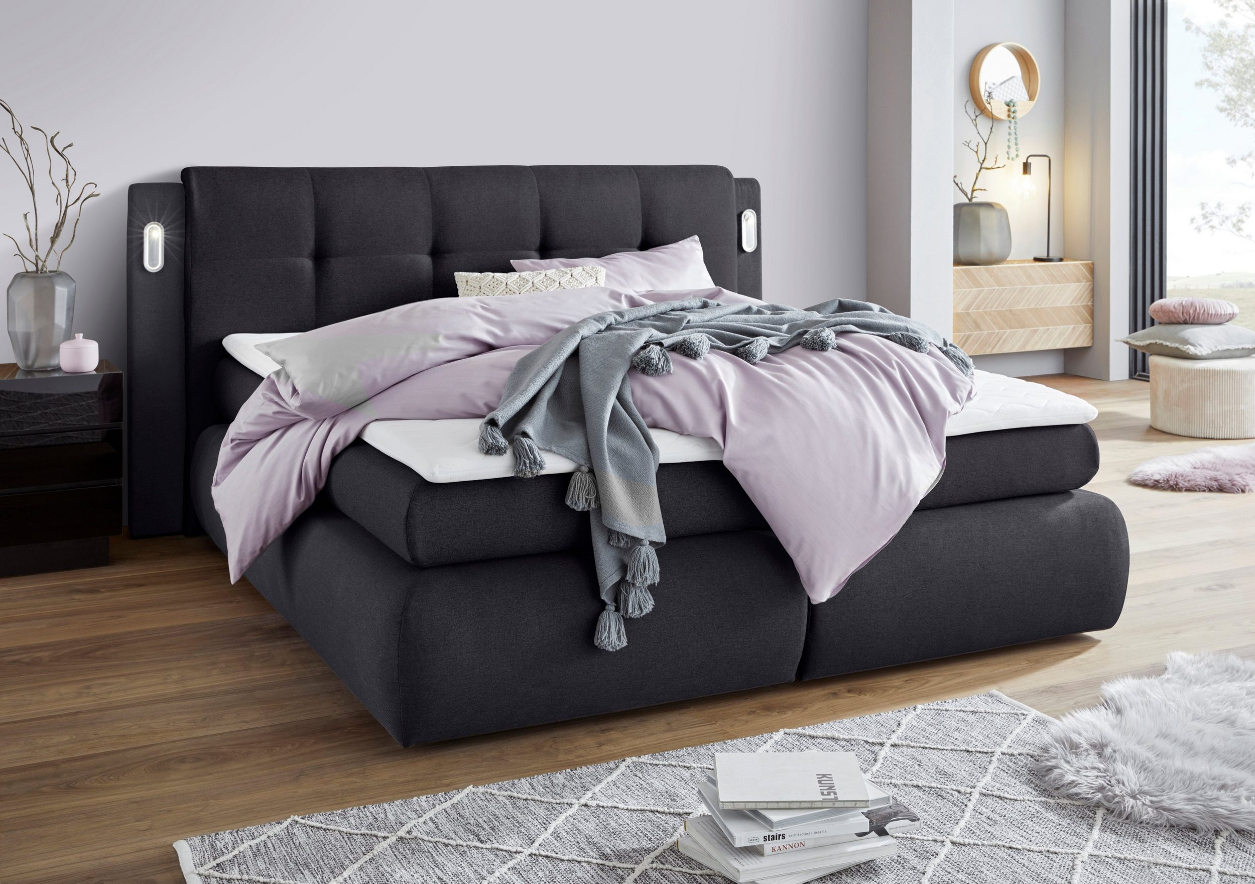 Collection AB Borna Boxspringbett mit Bettkasten