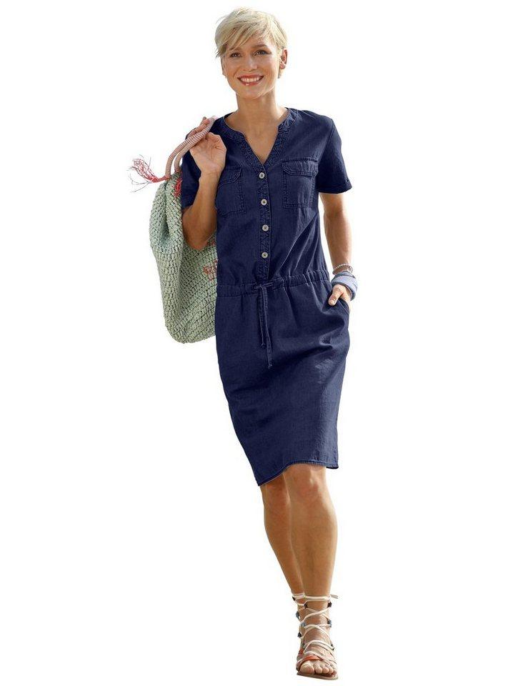 Casual Looks Blusenkleid Kleid Gewebte Qualitat Online Kaufen Otto
