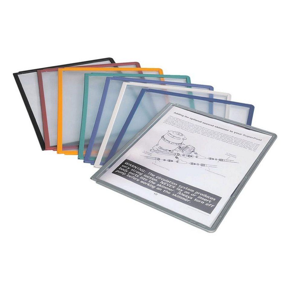 Durable Sichttafeln »Sherpa® Panel« in farbig sortiert