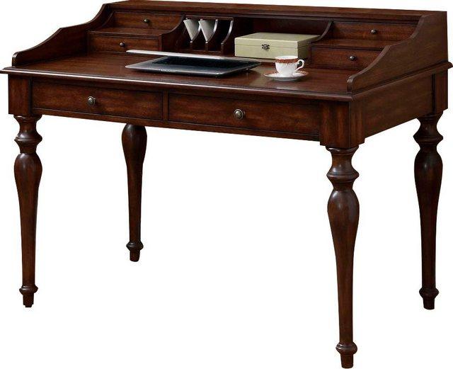 Schreibtische - Leonique Sekretär »Churchill«, mit viel Stauraum und gewollten Gebrauchsspuren (Unikat)  - Onlineshop OTTO
