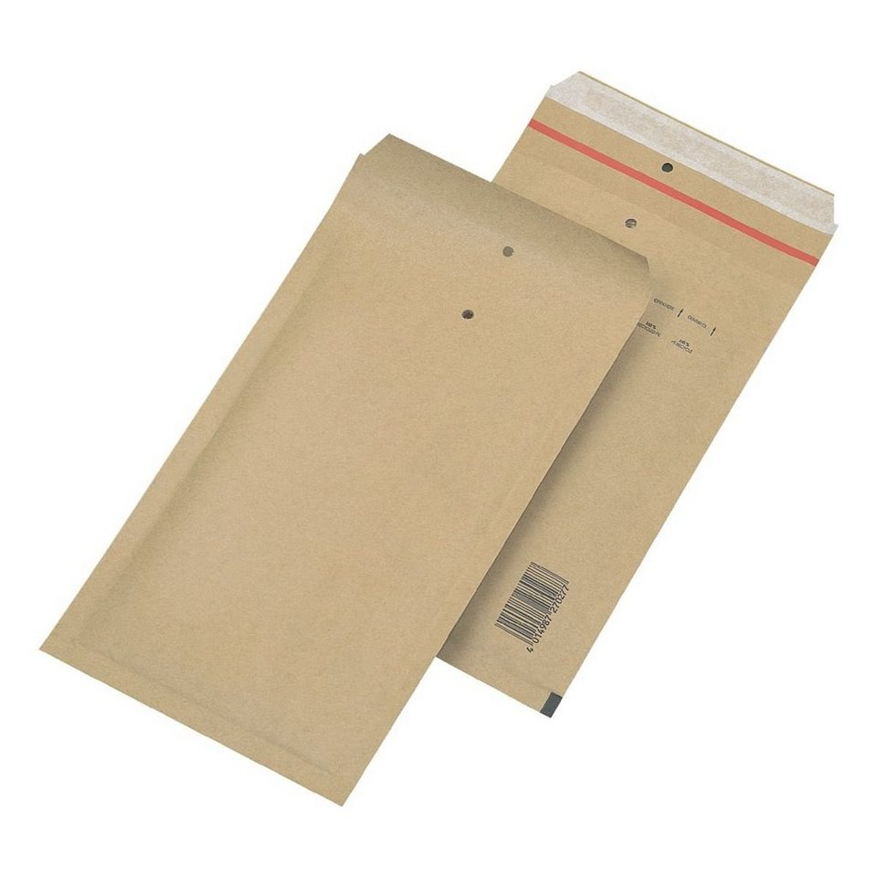 Mailmedia Luftpolster-Versandtaschen in natronbraun