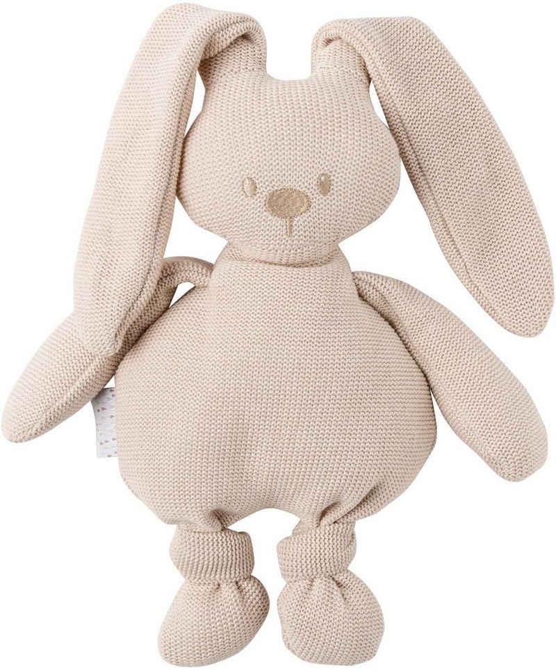 Nattou Kuscheltier »lapidou cuddly cotton Hase, beige«