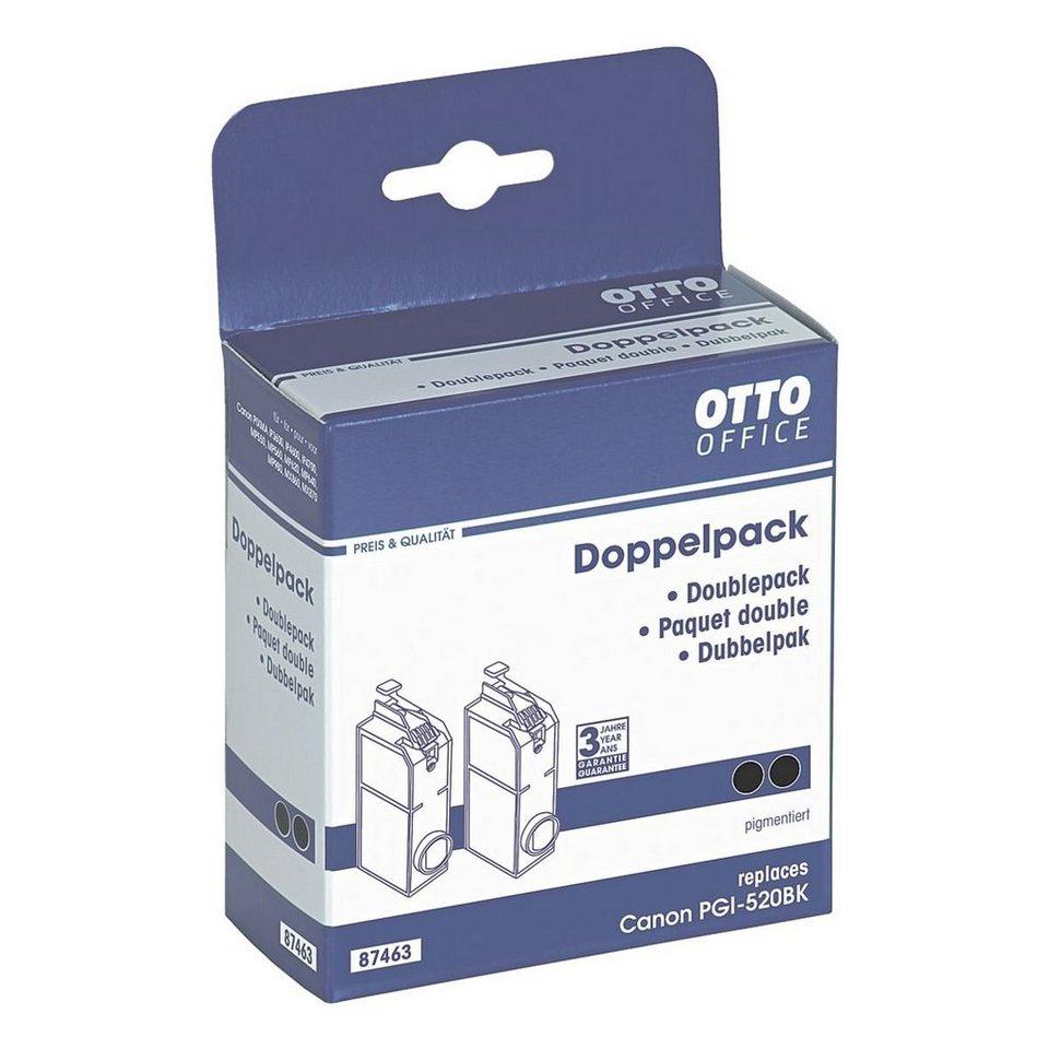 OTTO Office Standard Doppelpack Tintenpatrone ersetzt Canon »PGI-520 PGBK«