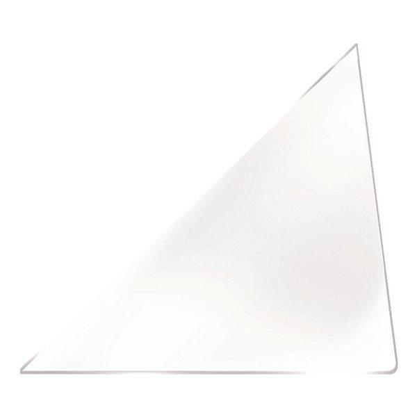 PROBECO 100 Selbstklebende Dreieckstaschen 150x150 mm