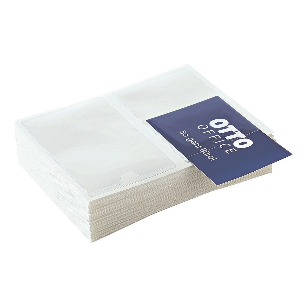 Probeco Selbstklebende Visitenkartenhüllen