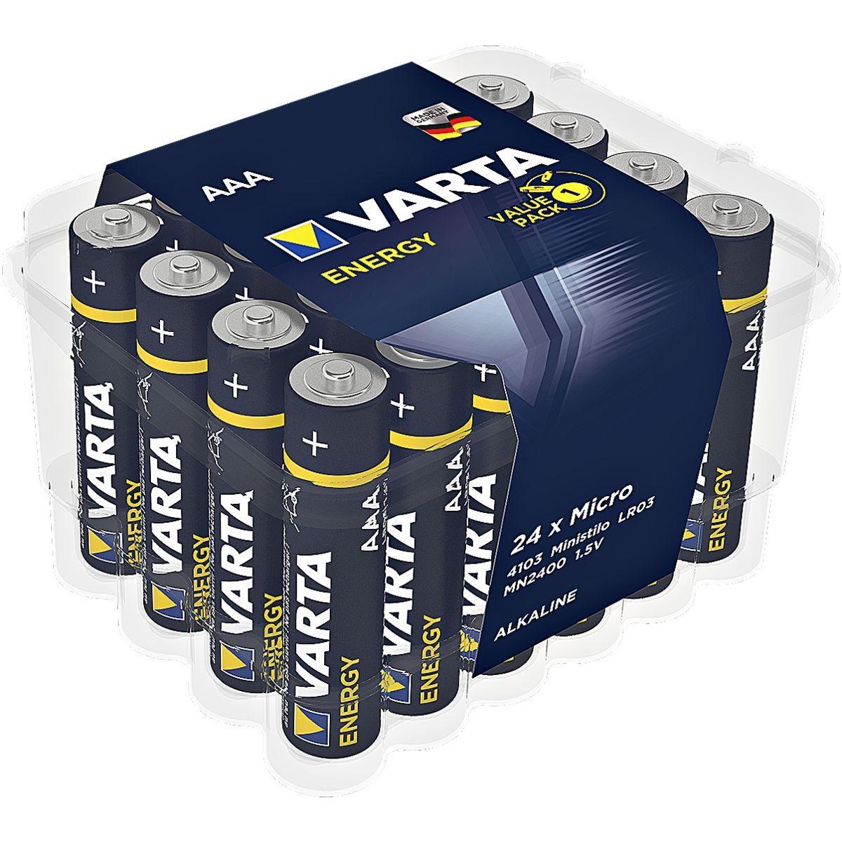 Varta Batterien »Energy« Micro / AAA / LR03