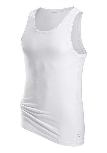 s.Oliver RED LABEL Bodywear Tanktop Markenwäsche in perfekter Passform glänzende Ziernähte