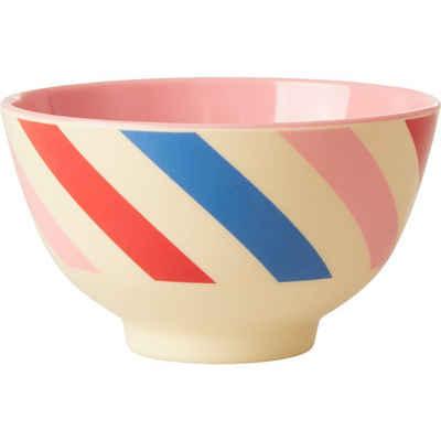 "rice Müslischale »Melamin Schale ""Candy Stripes"", Ø11cm«"