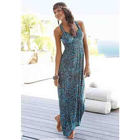 LASCANA Strandkleid mit verstellbarem Ausschnitt