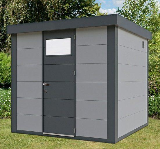Wolff Gerätehaus »Eleganto 2424«, BxT: 258x258 cm
