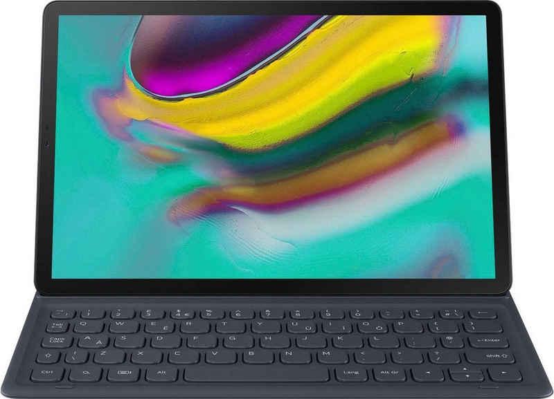 Samsung Tablettasche »Keyboard Cover EJ-FT720 für Tab S5e«, Standfunktion; POGO-Pin-Anschluss; QWERTZ Tastatur