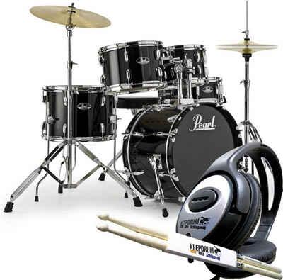 Pearl Drums Schlagzeug »Pearl Roadshow Schlagzeug 18 + Kopfhörer +Sticks«