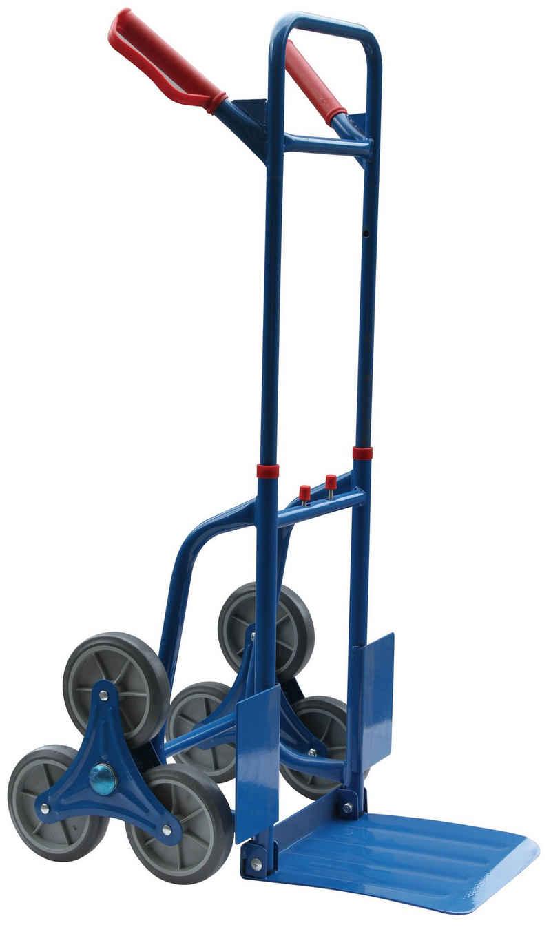 Kraft Werkzeuge Treppensackkarre »Kraft Werkzeuge Treppensteiger klappbar Treppen Sackkarre Transportkarre 120 kg«