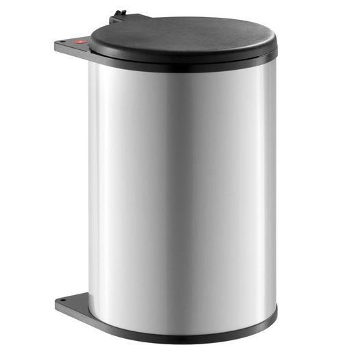 Hailo Einbaumülleimer »Abfallsammler Big Box MB 20 Liter Swing schwenkt ab einer Schrankbreite von 40cm mit Öffnen der Tür«, 3720211 für Schrankbreite ab 400 mm mit Drehtür