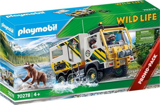 Playmobil® Konstruktions-Spielset »Expeditionstruck (70278), Wild Life«, Made in Europe