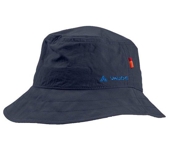 VAUDE Sonnenhut »VAUDE Linell II Sonnen-Hut süßer Kinder Wander-Hut mit Lichtschutzfaktor Fischer-Hut Dunkelblau«