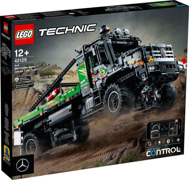 LEGO® Konstruktionsspielsteine »4x4 Mercedes-Benz Zetros Offroad-Truck (42129), LEGO® Technic«, (2110 St)