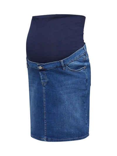 ESPRIT maternity Umstandsrock »Stretch-Jeans-Rock, Überbauchbund«
