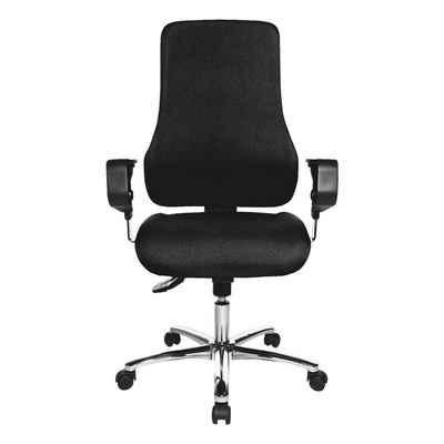 TOPSTAR Schreibtischstuhl »Sitness 55«, mit Armlehnen, Muldensitz und Body-Balance-Tect