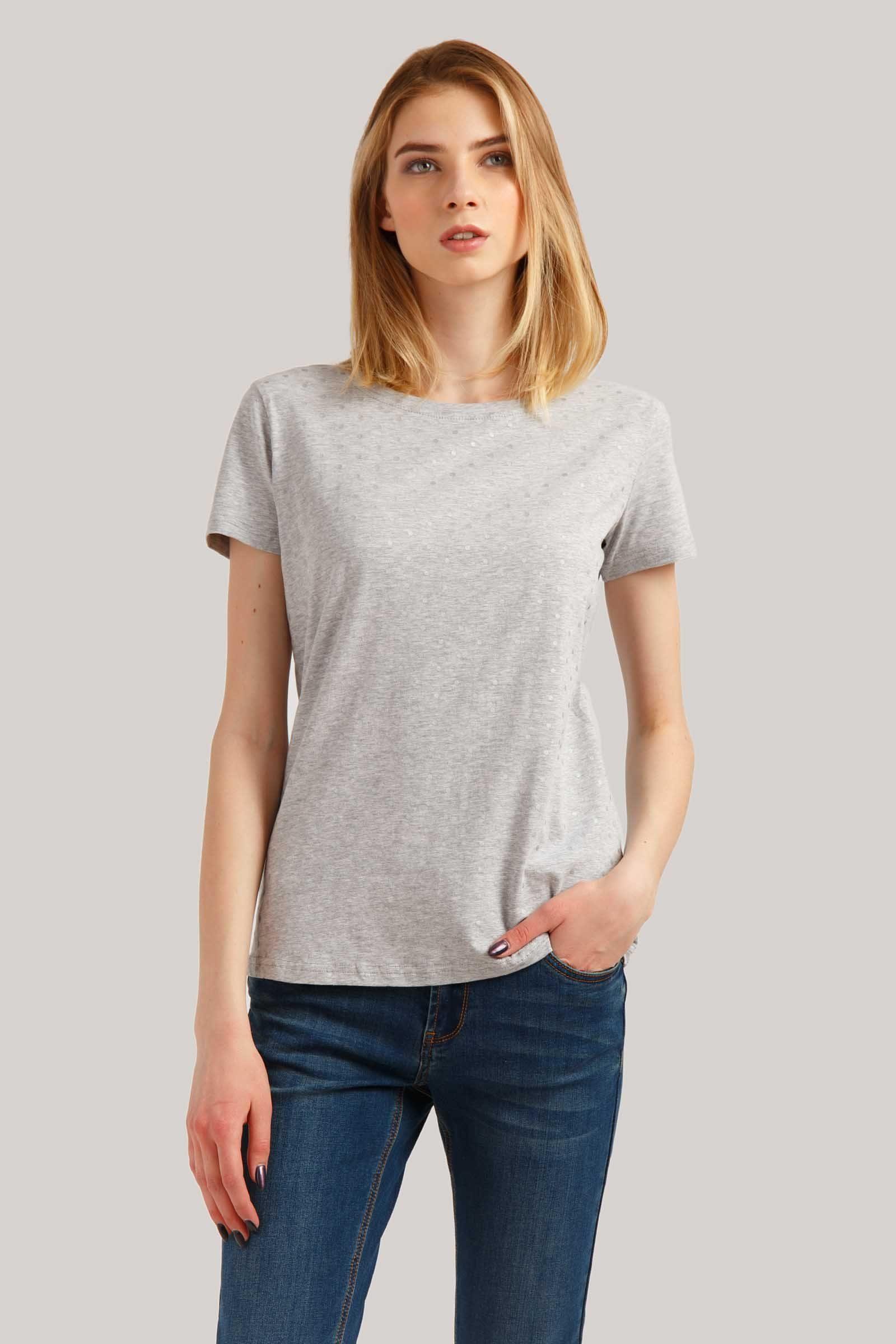 Finn Flare T Shirt mit stylischem Allover Print | OTTO