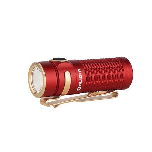 OLIGHT Taschenlampe »Baton 3 LED EDC Aufladbare Taschenlampe 1200 Lumen 166 Meter Leuchtweite Wasserdicht IPX8, 6 Lichtmodi mit Timing Funktion«