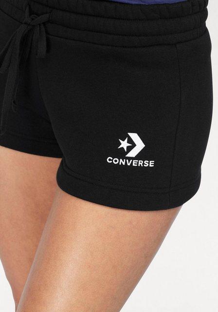 Hosen - Converse Sweatshorts › schwarz  - Onlineshop OTTO