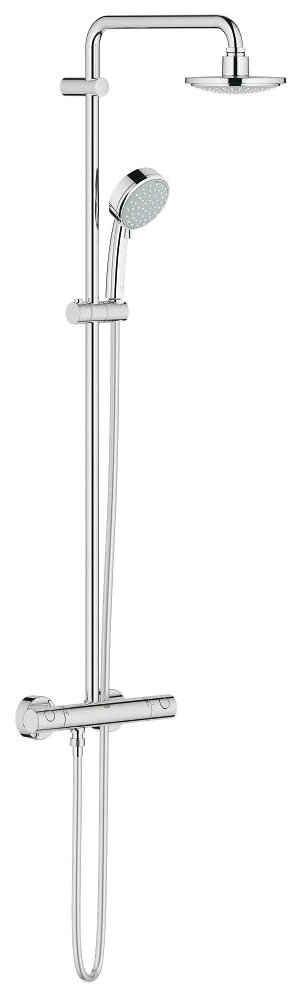 Grohe Brausegarnitur »Tempesta Cosmopolitan System 160«, Höhe 113,2 cm, für Wandmontage, Duschsystem mit Batterie