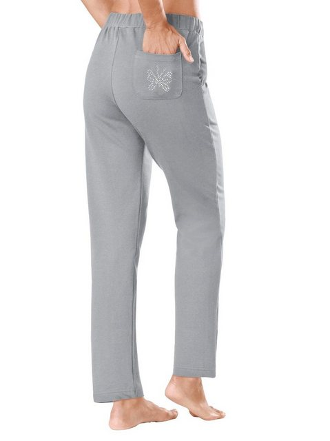Hosen - Plantier Homewearpants › grau  - Onlineshop OTTO