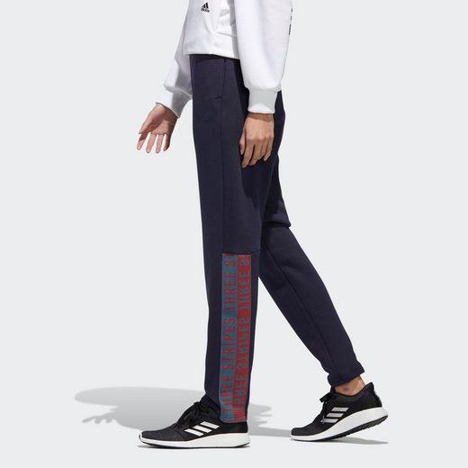 adidas Performance Sweatpants  3-Streifen Wording Jogginghose