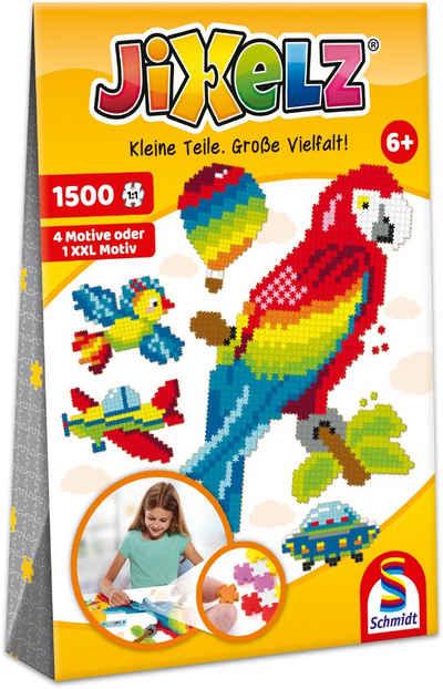 Schmidt Spiele Konturenpuzzle »Jixelz®, Alles, was fliegt«, 1500 Puzzleteile